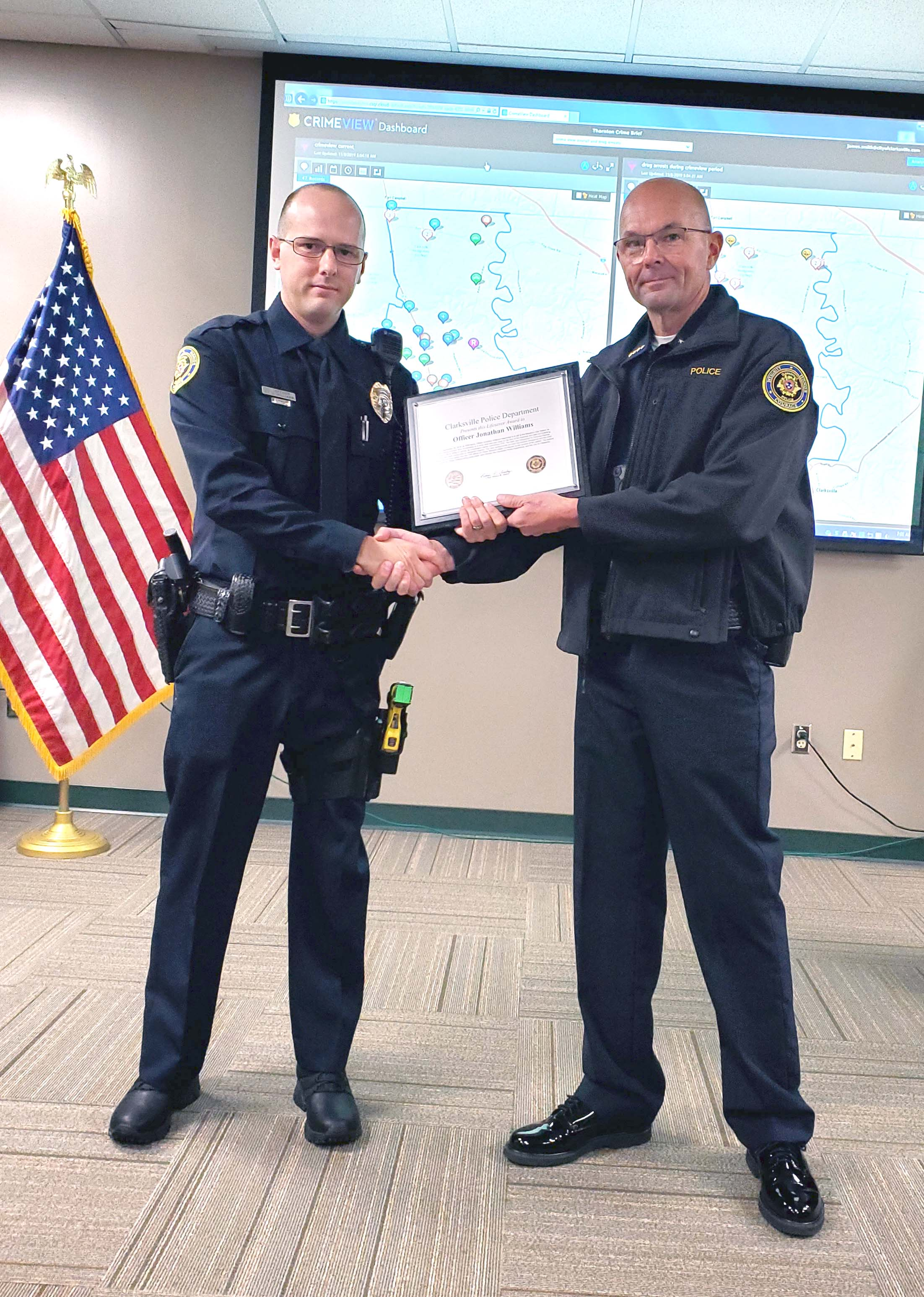 CPD lifesaver award