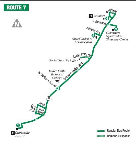 Route 7 Map